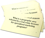1001 Flash Cards to Help You Pass Your Florida Real Estate Exam